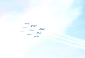 Air show Tricolore 6