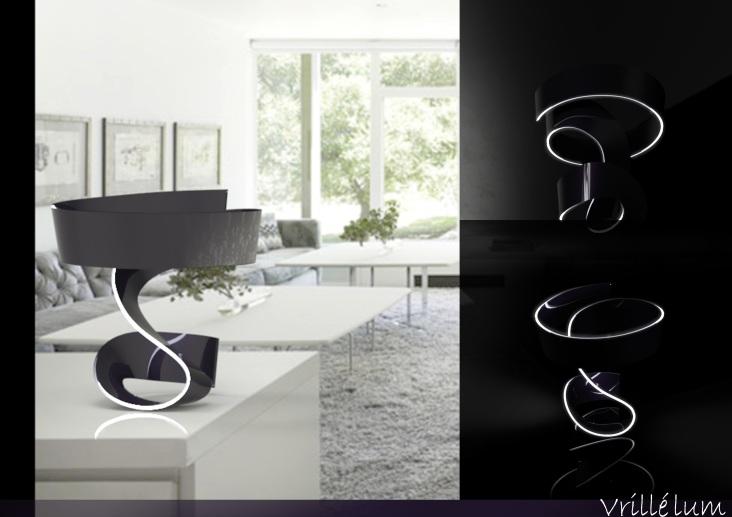 Lampada da tavolo - Vrillélum (4)