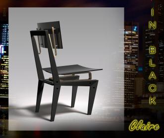 Sedia - Claire (in black)